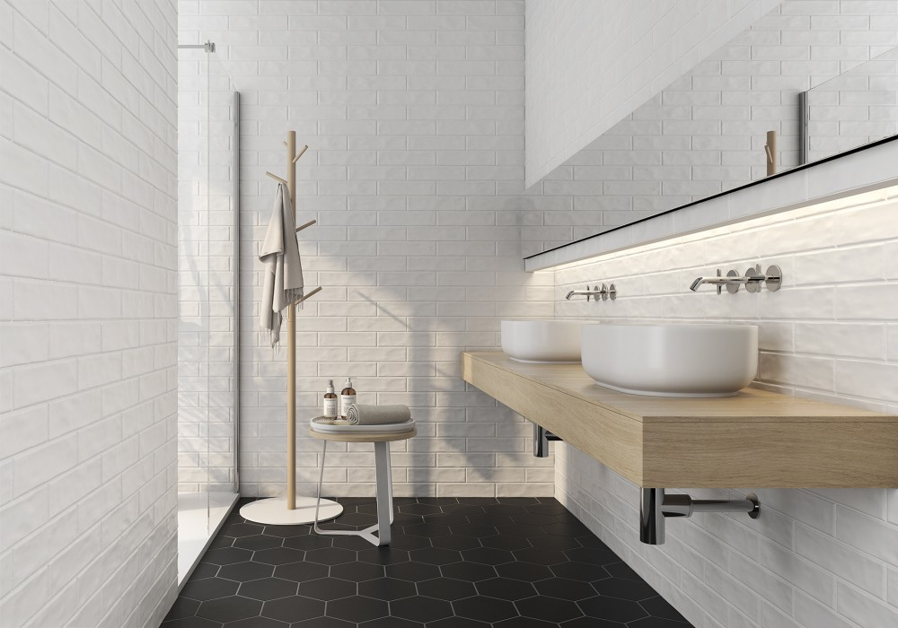 Studio Hex Porcelain Tile