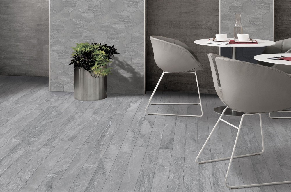 porcelain, slate-look, textured, modern, edgy