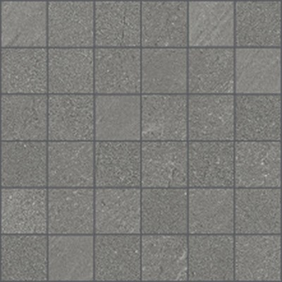 Atlantic Stone 2x2 mosaic tile in color Antracite