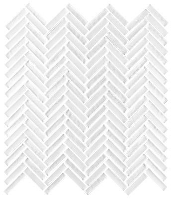 Shimmer glass collection crystal herringbone