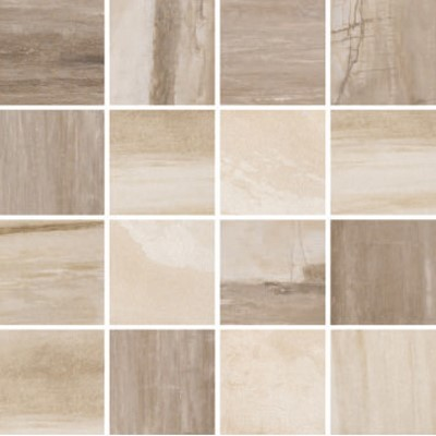 Falling Water Victoria 3x3 mosaic grey beige