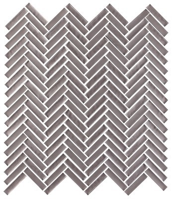 Shimmer glass collection mica herringbone