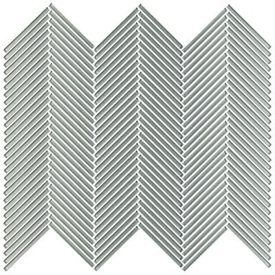 Shimmer glass collection myst chevron