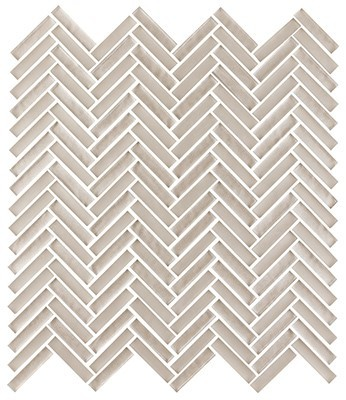 Shimmer glass collection quartz herringbone
