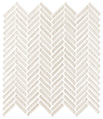 Shimmer glass collection silk herringbone