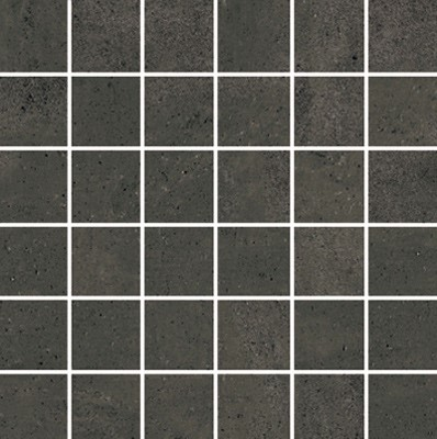 Simply Modern 2x2 mosaic tile in color Black