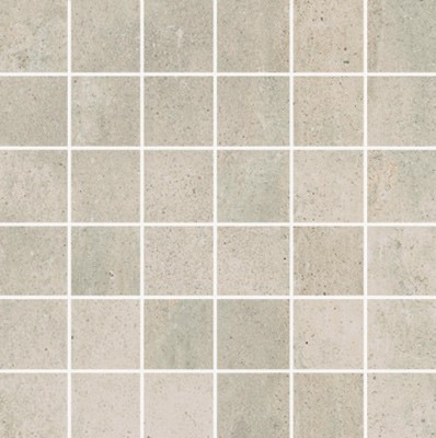 Simply Modern 2x2 mosaic tile in color Creme