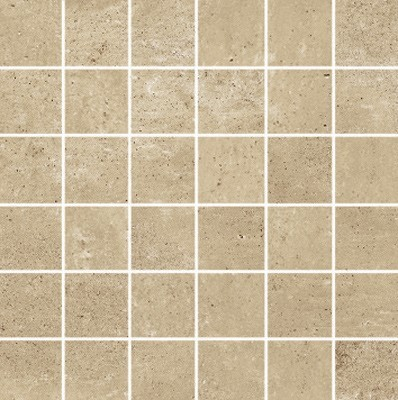 Simply Modern 2x2 mosaic tile in color Tan