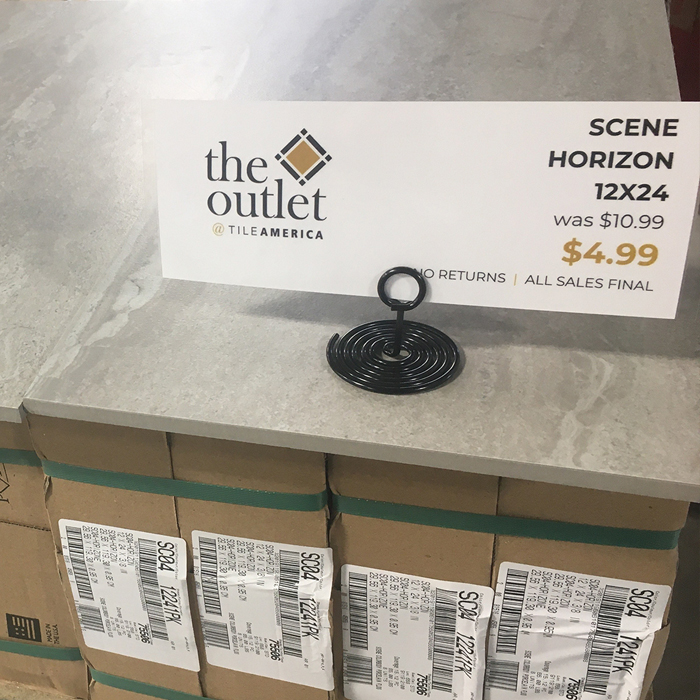 Scene Horizon 12x24 in the Outlet at Tile America