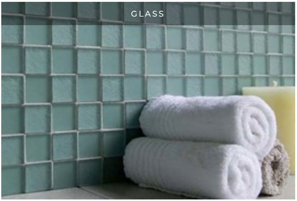 Glass tile design ideas and trends