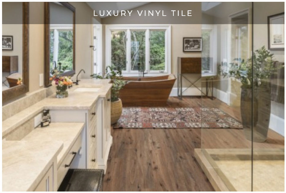 Luxury Vinyl Tile design ideas and trends